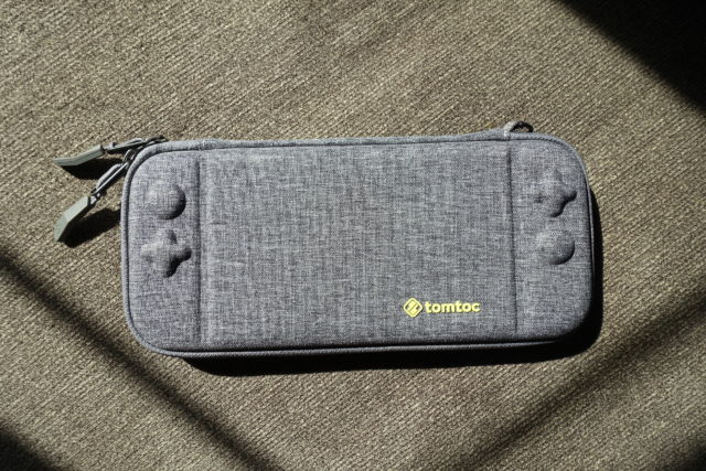 Tomtoc's Slim Case is a recommended accessory for your Nintendo Switch.
