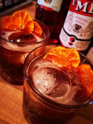 Hannah's festive drinks garnishes