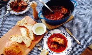 Greek rabbit stew.