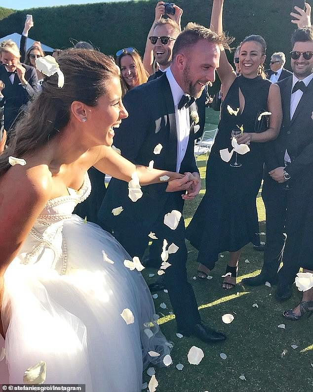 No expense spared!After six years of dating, Lachlan and Laure, wed in December 2017 during what could easily be described as the flashiest nuptials of the year
