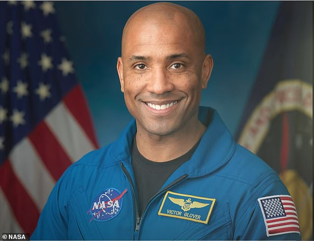 Glover joined NASA's ranks in 2013 and is a commander in the US Navy, but is now the 14th black astronaut to venture into space