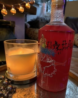 Fiona Chapelle's redcurrant gin