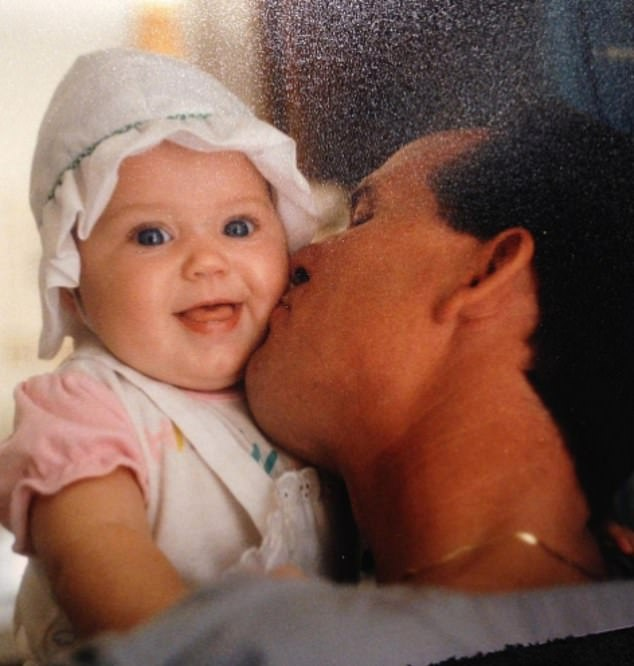 Not the kid: Some fans thought this image Katy shared was of Daisy but it was actually of Katy as a baby