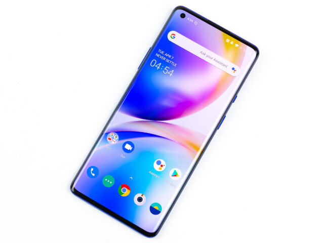 The OnePlus 8 and OnePlus 8 Pro (pictured) are two of the best premium Android phones of 2020.