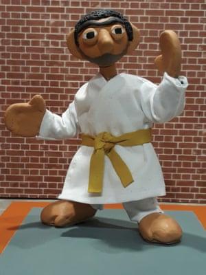 Duncan Willis's puppet