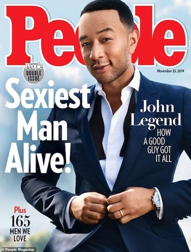 Last year:Michael takes on the Sexiest Man Alive title that was last bestowed in November 2019 to singer John Legend, 41