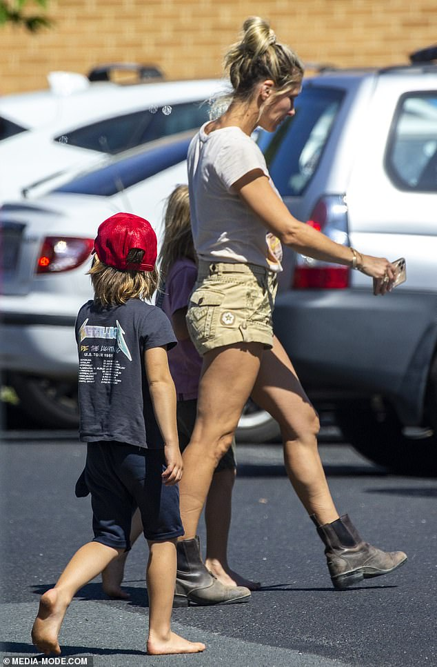 Ordinary parents:Despite being Hollywood stars, Elsa and her husband, Chris Hemsworth, are very hands-on with their children and are regulars at the school gate