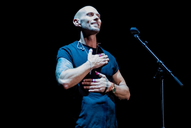 Luke Goss of Bros perform during the live music event at O2 Brixton Academy, in London, United Kingdom, on July 5, 2019. (Photo by Robin Pope/NurPhoto via Getty Images)
