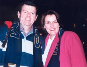 Suzanne Harris and Tom McAtee Storm game 1999