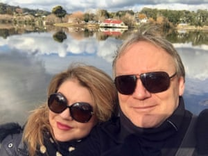 Ursula Benstead and Simon Thompson