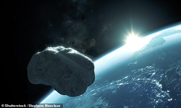 Coincidentally, 2020 VT4 is not the only asteroid to visit Earth on a Friday 13th — with the 984 feet (300 meters) wide body dubbed Apophis expected to pass close by us on Friday April 13, 2029. Pictured, an artist's impression ofApophis approaching the Earth