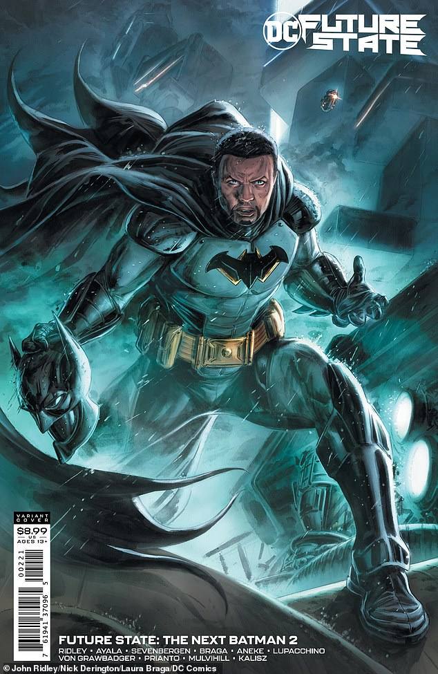 New spin: DC's next Batman will be a Black man named Timothy Fox