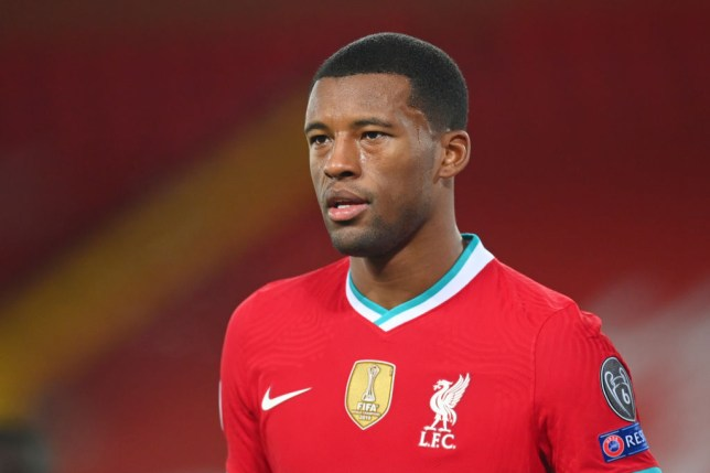Georginio Wijnaldum can negotiate with other clubs from January with his Liverpool contract due to expire next summer