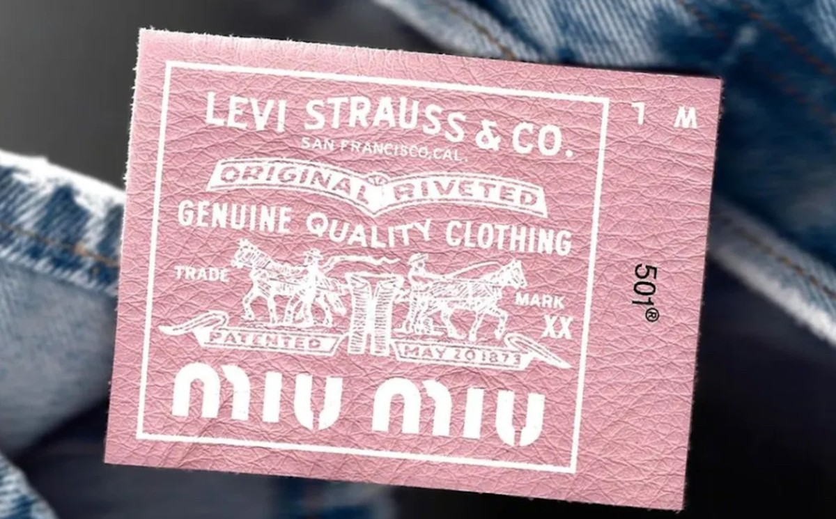 Miu Miu launches upcycled collection and partners with Levi's