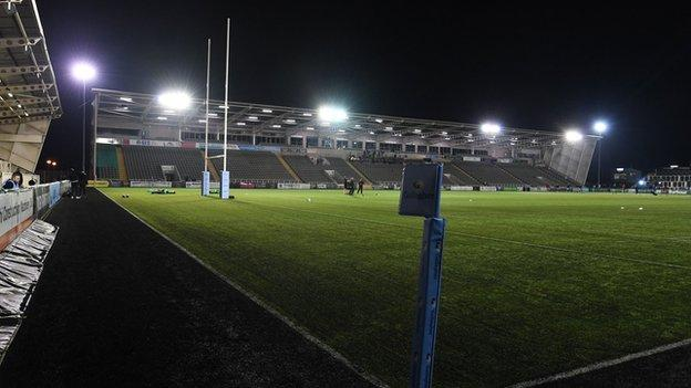Kingston Park, Newcastle will now remain unused on Boxing Day
