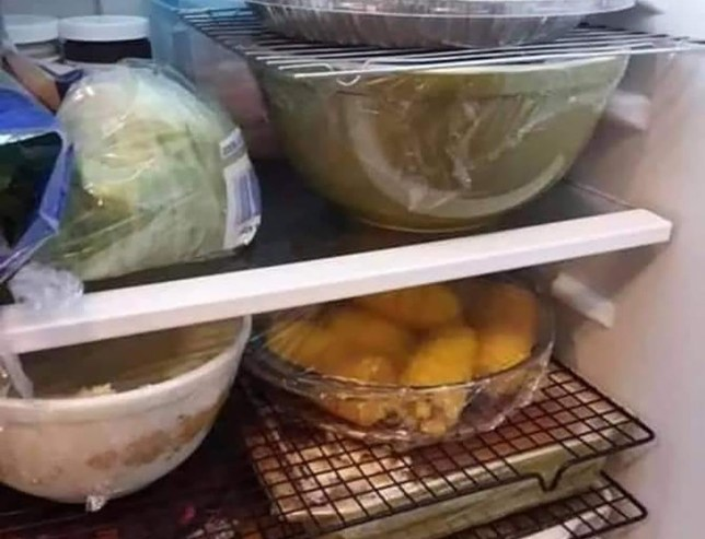Mum reveals hack to double fridge space