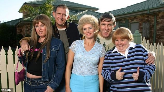 Iconic:Kath and Kim also starred the likes of Jane Turner, Glenn Robbins, Magda Szubanski and Peter Rowsthorn and ran from 2002 - 2007