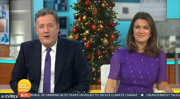 Not happy: Piers was indignant on Monday morning after Rita Ora was accused of breaching lockdown rules over the weekend