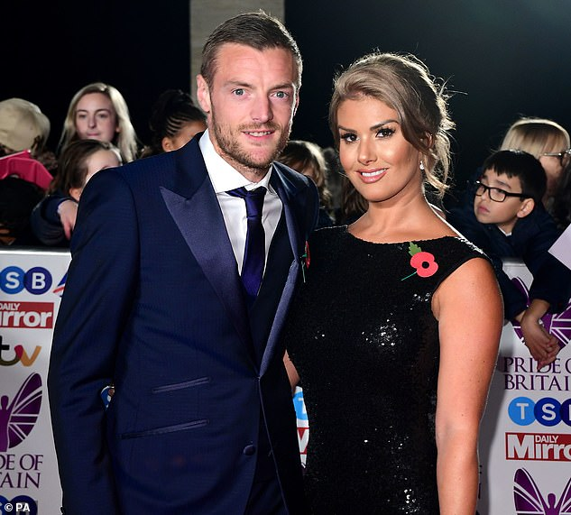 Brewing storm: The 57-page document will do little to calm the raging storm between the two women (pictured: Rebekah is the wife of Leicester star Jamie )