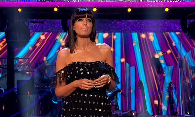 Hilarious:After the MIC star performed a Charleston to Zero To Hero from Hercules with pro Karen Hauer, Claudia, 48, said: 'On the subject of you being in the final, it was written about and it was said... you were going to do something quite important.'