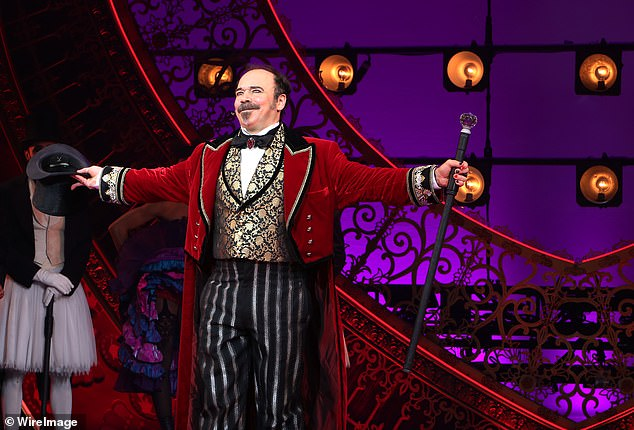 On stage: The six-time Tony nominee shared further details about caring for his wife while recovering from COVID-19; seen in Moulin Rouge! The Musical in July 2019