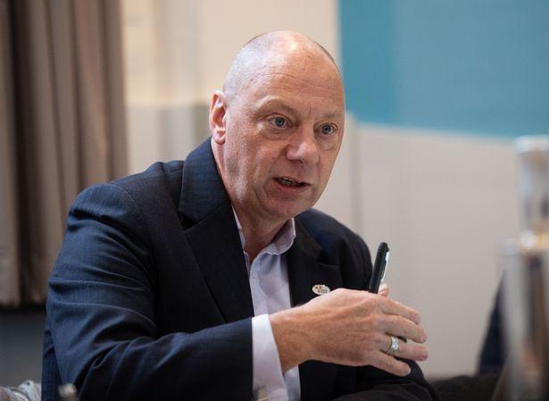 Confederation of Shipbuilding and Engineering Unions general secretary Ian Waddell