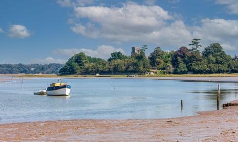 The village of Iken, Suffolk, on the River Alde.