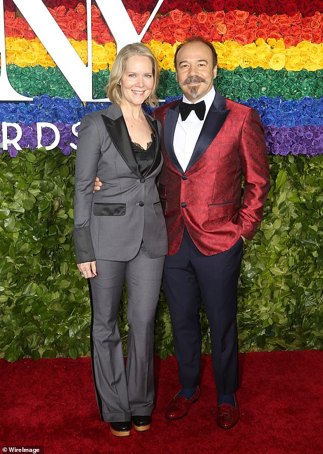 They're fighters: Broadway actor Danny Burstein shared his experiences battling COVID-19 with wife Rebecca Luker in a story done for The Hollywood Reporter