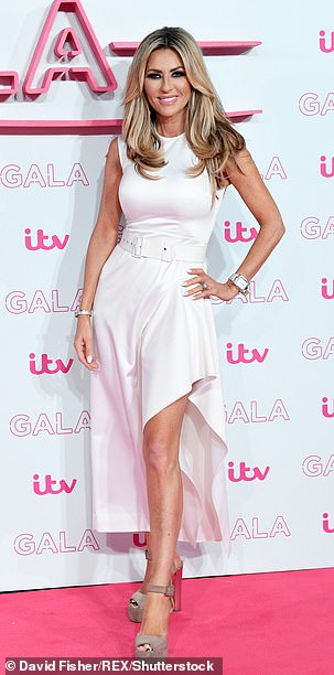 Followed: Real Housewives of Cheshire star Dawn Ward, 47, also followed the account, the court paper says
