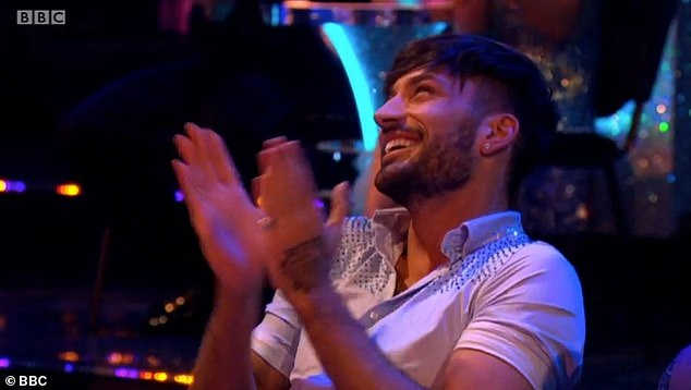 Number?Yet at the end of the clip, Emily hilariously and cheekily asked if she could give pro dancer Giovanni, 30, her number
