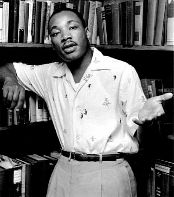 Martin Luther King at home in May 1956