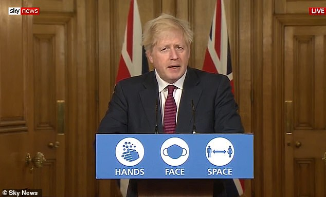 Topical:With Claudia commenting on Boris Johnson's announcement earlier on Saturday, where he dramatically cancelled Christmas for more than 17m people and put a third of England, including London, into a brutal new 'Tier 4' from midnight