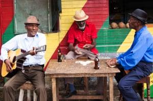 The Jolly Boys in Port Antonio. Jamaica.