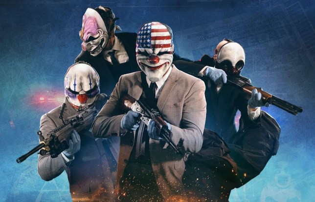 Payday 2 key art