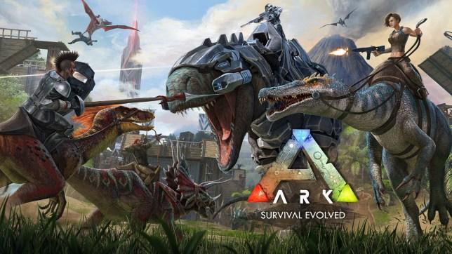 Ark: Survival Evolved key art