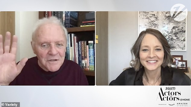 'It's a life-changing adventure, that movie, for both of us': Oscar-winning duo Anthony Hopkins and Jodie Foster reunited on Tuesday to celebrate the 30th anniversary of the release of The Silence of the Lambs happening February 14