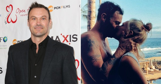 Brian Austin Green; Brian Austin Green and Sharna Burgess