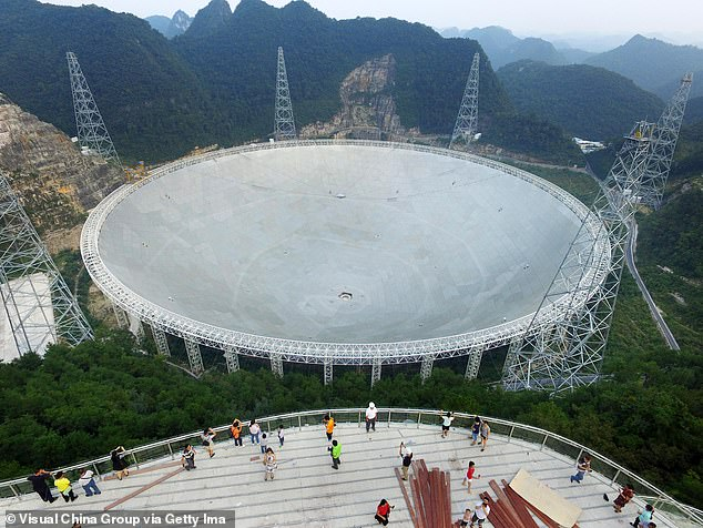 Five-hundred meter Aperture Spherical radio Telescope (FAST), the world's largest single-disc radio observatory, will welcome foreign astronomers for the first time starting in August