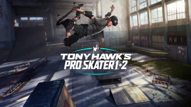 Tony Hawk's Pro Skater 1 + 2 key art