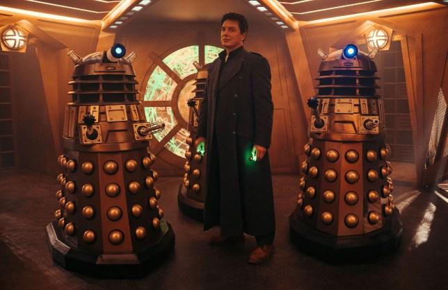 Doctor Who Revolution of the Daleks bronze