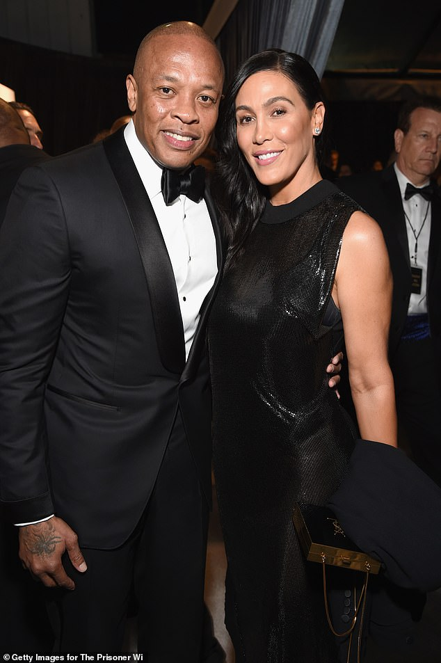 Divorce battle: Dr. Dre has agreed to pay $2 million in temporary spousal support to his estranged wife Nicole Young amid their ongoing divorce battle