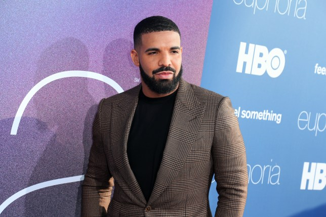 Drake on red carpet