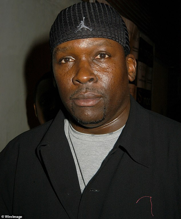 Dearly departed:ER actor Dearon Thompson, who often used the stage name Deezer D, has died at the age of only 55 in Los Angeles; pictured in 2004