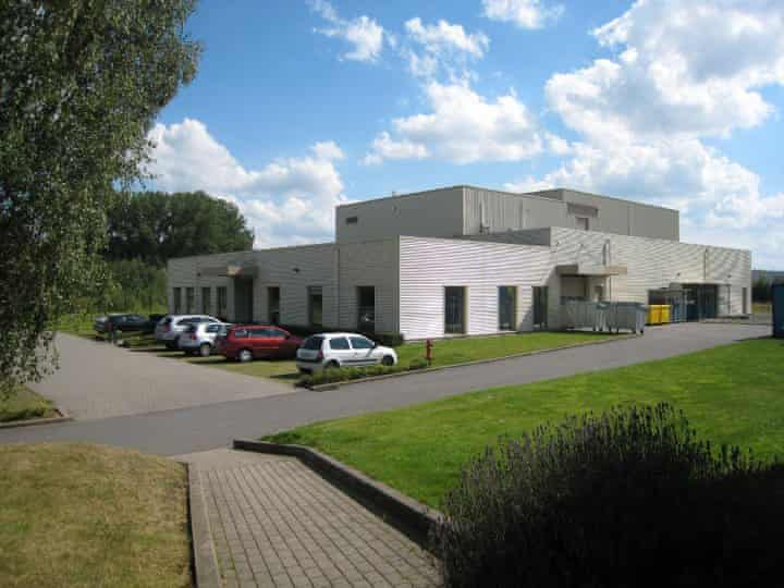 The Belgian site owned by the French life-sciences company Novasep.