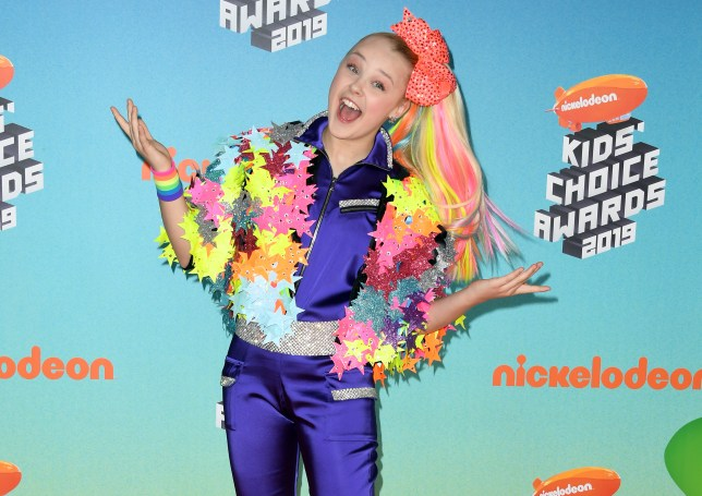YouTube star JoJo Siwa