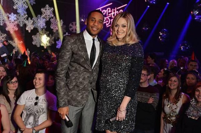 Reggie Yates and Fearne Cotton on Top of the Pops