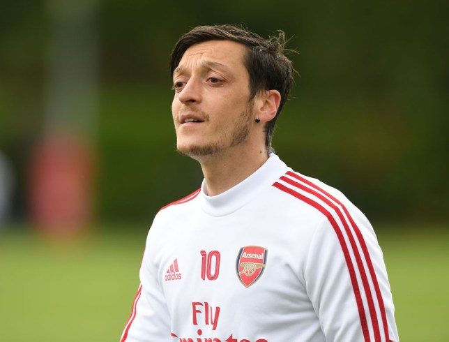 Ozil hasn't featured for the Gunners since March