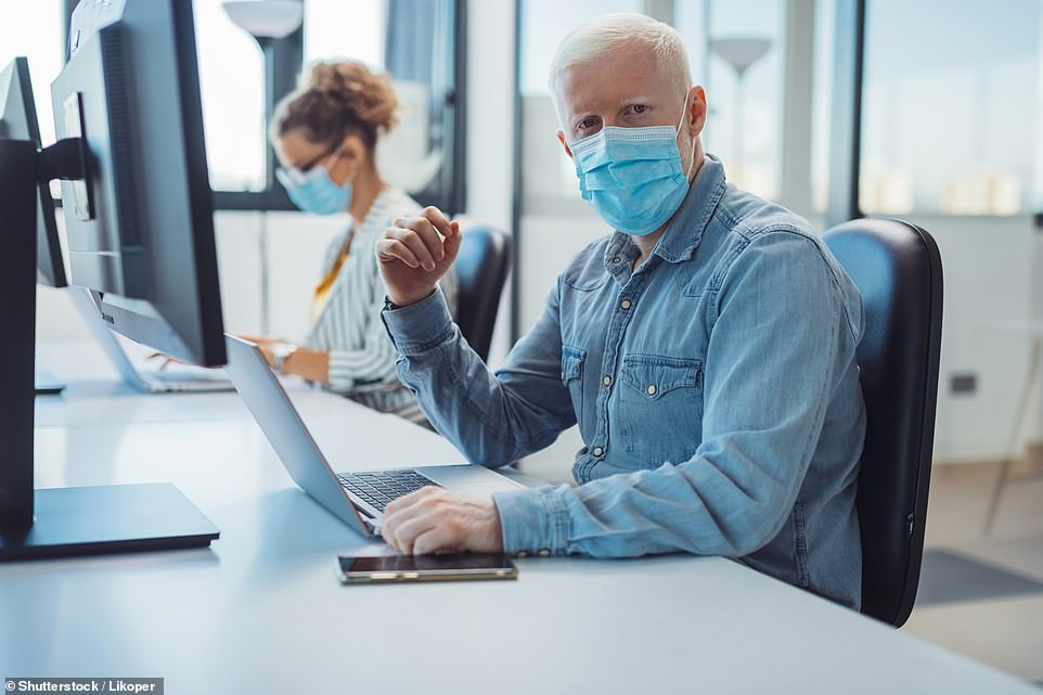 A website built by the University of Cambridge has been programmed to reveal the risk of infection from coronavirus in indoor spaces, and is being used by the university to vet locations and make them ore Covid-secure (stock)