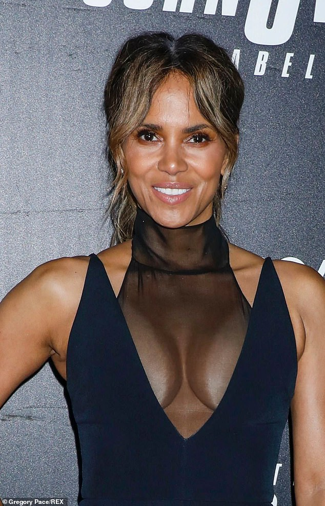 Lessons: Halle Berry encourages her seven-year-old son Maceo to challenge gender stereotypes - and has done since he was five