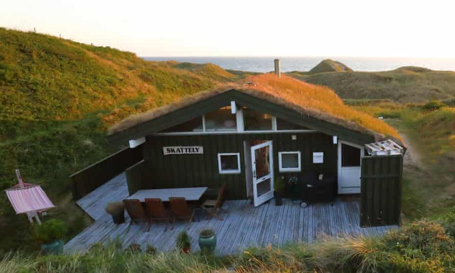Airbnb cabin on the Danish coast near Hirtshals